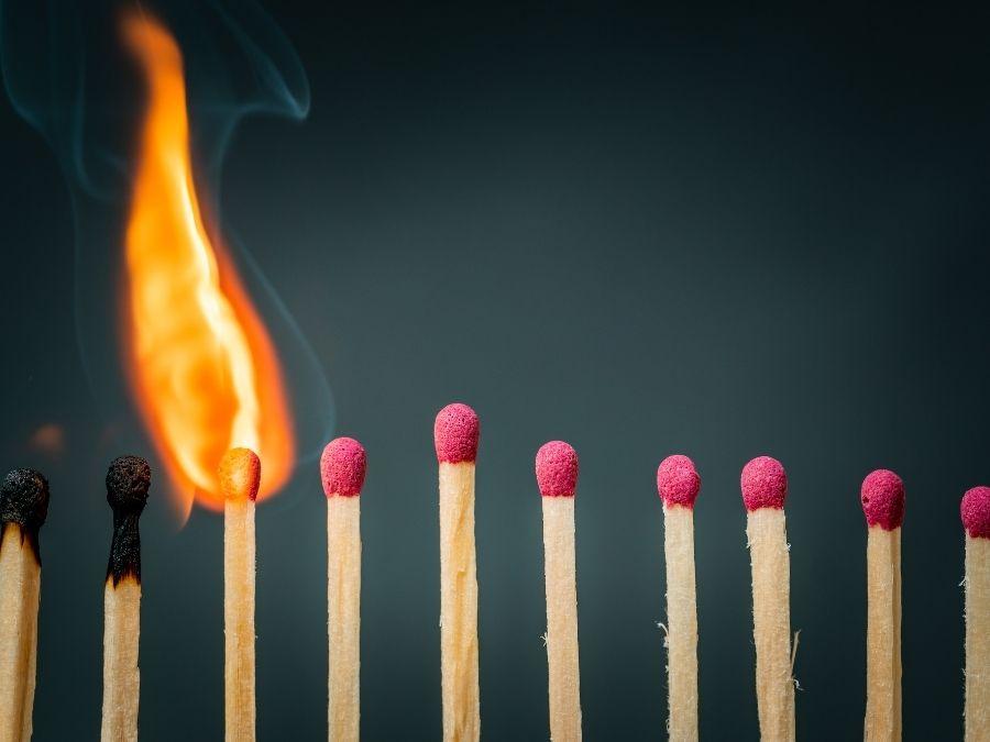brand overslag